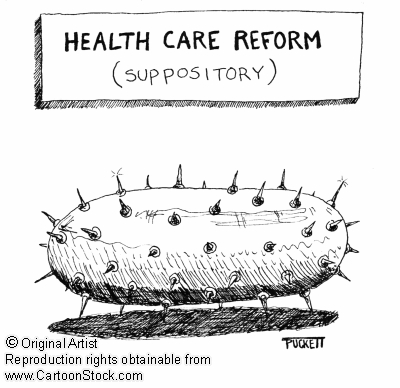 Health Care Reform Suppository